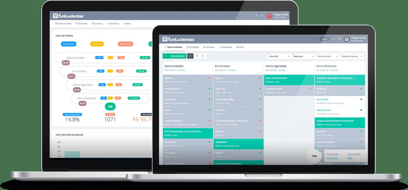 Funil-de-Vendas-CRM-Software Funil de Vendas :: Software CRM para converter mais negócios - Campanha email