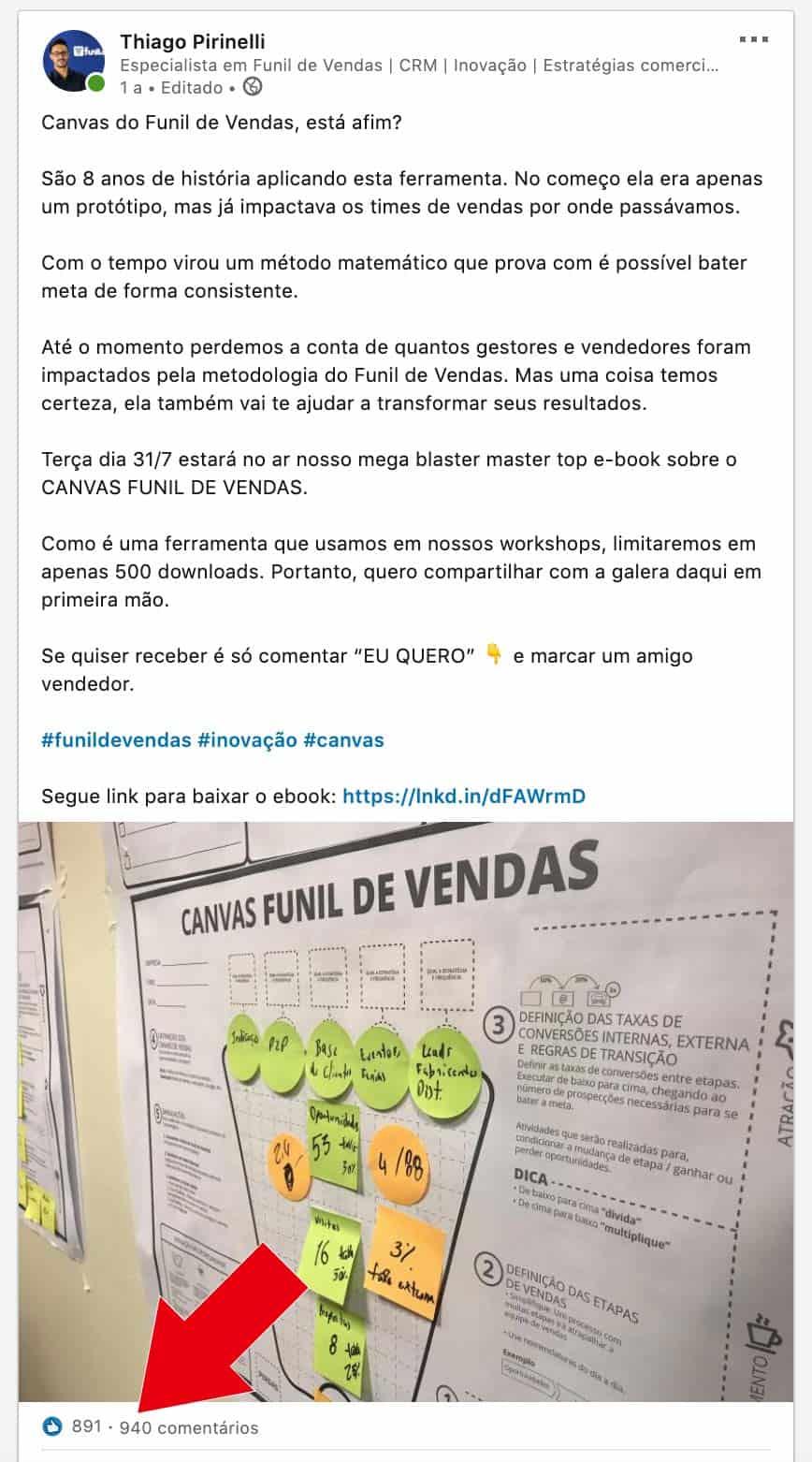 Linkedin Thiago Pirinelli